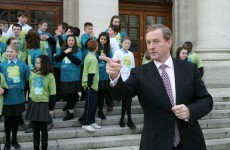 "Government ""working day and night"" to get people off the dole: Enda Kenny"