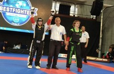 Irish kickboxer 'delighted' to win prestigious World Cup event after 15 years of trying