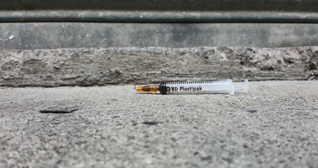 'An example of how bad it can get': We counted 13 syringes down this tiny Dublin alleyway