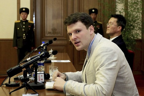 Otto Warmbier in February 2016