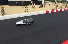 Students from NUI Galway built a car that can do the equivalent of 10,500 miles per gallon
