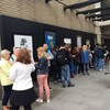 """Hundreds queue for free tickets as Abbey Theatre shows it is """"open to all"""""""