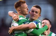 Shamrock Rovers keep up the chase for European qualification with emphatic victory over Drogheda