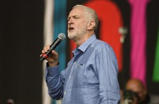 'Rise, like lions after slumber': Jeremy Corbyn got a rapturous reception at Glastonbury today
