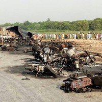 Death toll rises above 150 in Pakistan oil tanker explosion