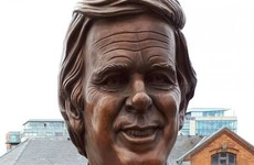 A statue of Terry Wogan was unveiled in Limerick and it doesn't really look anything like him
