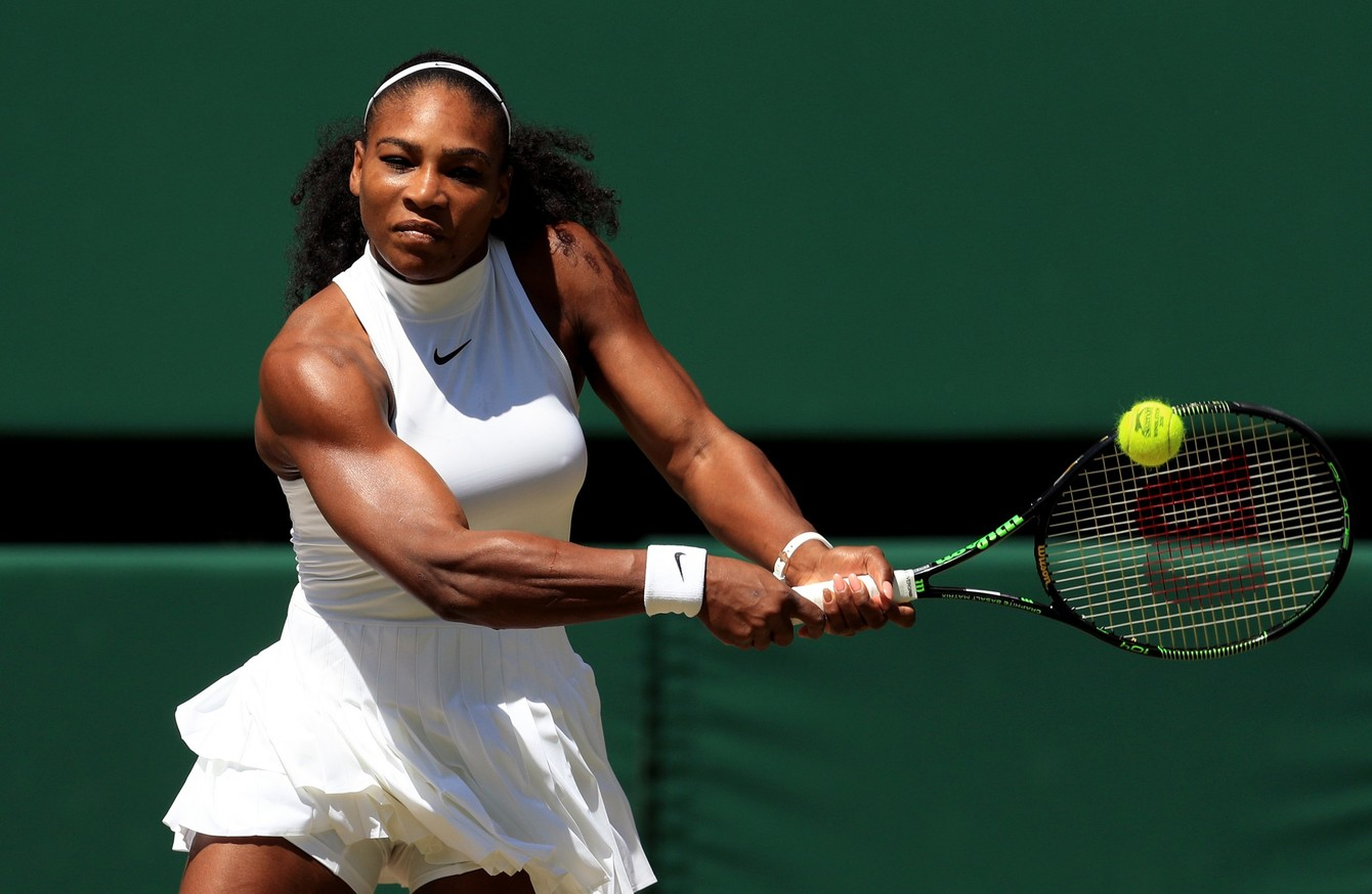 Serena on steroids guys on steroids fighting