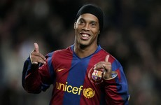 Quinton Fortune blames the rain for Ronaldinho's decision to choose Barca over Man Utd