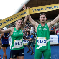 Gold! 'Dream day' as Ireland duo defend mixed relay title at World Cup final