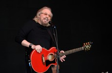 A woman's joke about Barry Gibb's setlist at Glastonbury caused chaos on Twitter today
