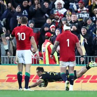 Gatland unwilling to use bench as Lions surrender winning position in Wellington
