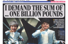 'Handshake of shame' - British papers react to £1 billion DUP-Tory deal