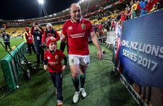 'I'm eternally indebted to Jodie for flying them out': Best shares special Lions moment with family
