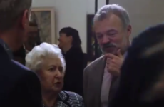 Graham Norton's mother reacted like a typical Irish mam at the unveiling of his portrait in Dublin