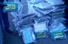 Two men arrested as gardaí seize cocaine and cannabis worth €1.2 million