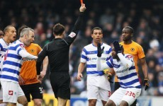 Cissé apologises for sending off, but says Johnson got off lightly
