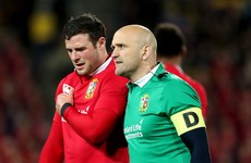 Robbie Henshaw's tour looks to be over as Lions wait on scan results