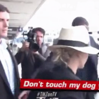 Jennifer Lawrence called a photographer who tried to pet her dog a 'f**king loser'