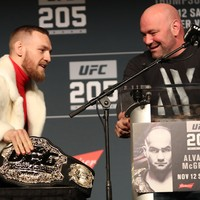 McGregor is a unicorn and wants to fight Khabib in Russia, according to Dana White