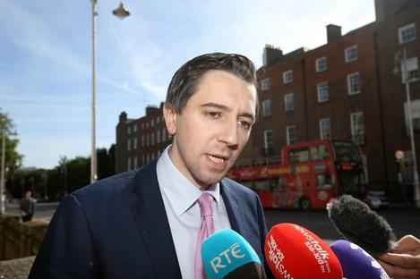 Minister for Health Simon Harris