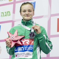Second European medal of the week for Irish teen as she breaks another senior record