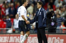 Capello disagreed with Terry losing England captaincy