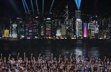 Tight security as Hong Kong celebrates 20 years since British handover
