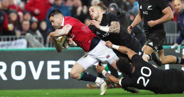 Conor Murray loves scoring against the All Blacks