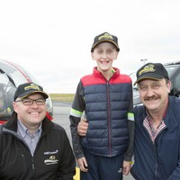 Boy from Mayo is first-ever patient to be transported in BUMBLEair helicopter