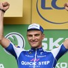 Tearful Kittel wins 10th Tour de France stage, Froome suffers scare