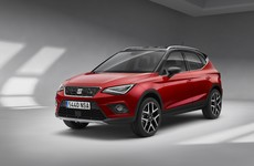 The new SEAT Arona is gearing up to take on the Nissan Juke and Renault Captur