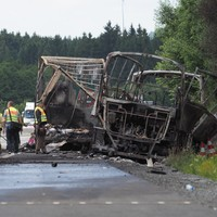 'Up to 18 feared dead' in Germany as tour bus bursts into flames