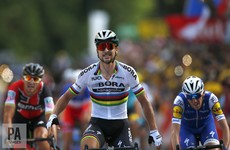 Dan Martin takes third behind world champ Sagan at Tour de France