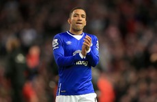 Aaron Lennon returns to Everton training after 'stress-related incident'