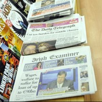 Crosbie: newspapers should get a slice of any new broadcasting charge