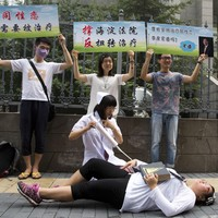 Gay man sues mental hospital in China over forced 'conversion therapy'