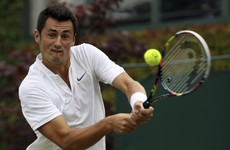 'Bored' Tomic admits he's lost his love for tennis as all 7 Aussie men fall at Wimbledon's first hurdle