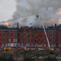 'We wanted to mind it; now we're watching it burn' - Fire has gutted one of Cork city's best-known buildings