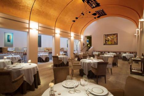 Refurbished room in Restaurant Patrick Guilbaud.