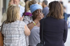 Tense scenes as Grenfell Tower families demand answers from police