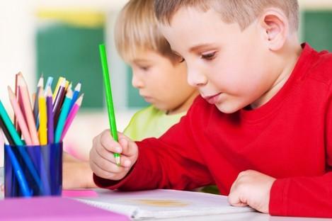 Children in school
