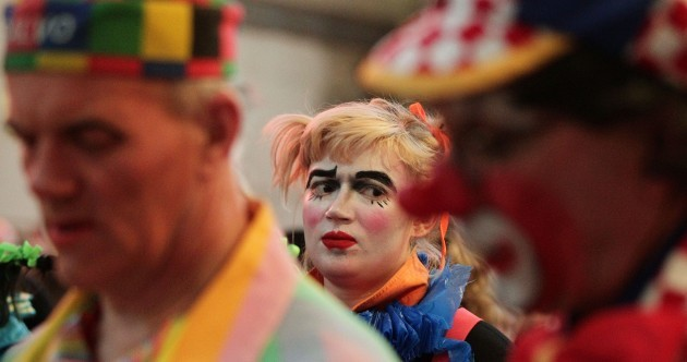 In pictures: Clown memorial service