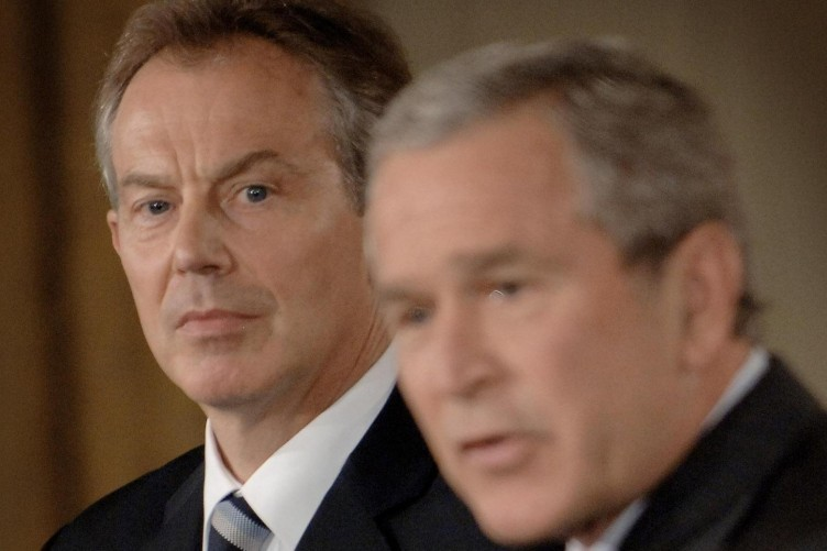 Tony Blair infamously sent a note telling then-President Bush he would be with him whatever.