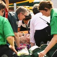 Mattek-Sands suffers 'acute knee injury' in horrific Wimbledon fall
