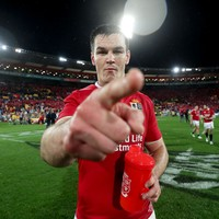 Lions 10 Johnny Sexton proving his doubters wrong once again