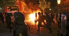 Scores of police injured in violent protests ahead of Trump-Putin showdown at G20