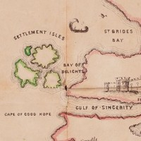 Steer clear of Divorce Island! Explore a 19th-century 'marriage map'