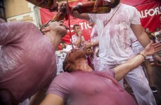 Two Americans and one Spaniard gored in Pamplona bull run