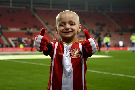 Sunderland fan Bradley Lowery