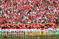 Cork unveil starting sides for Sunday's Munster senior and minor finals